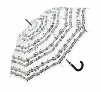 Anka Verlag Walking-Stick Umbrella White